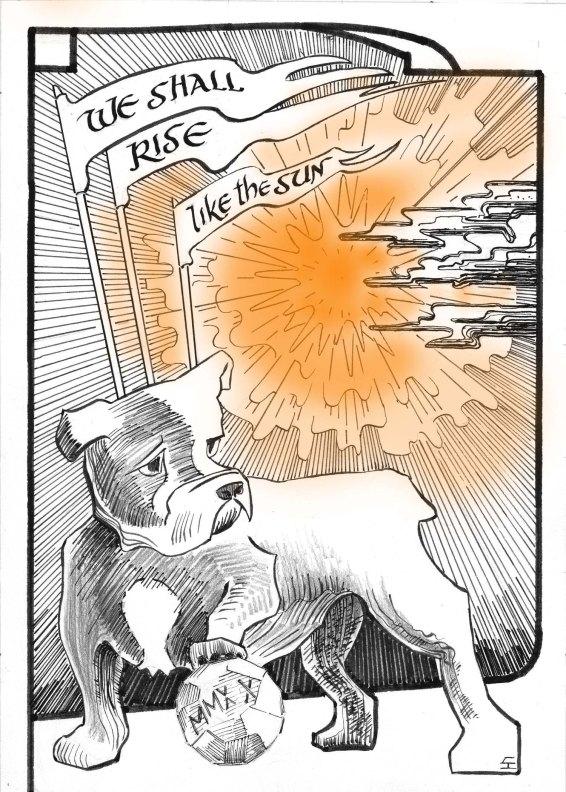 """A dog named """"Trip"""""""