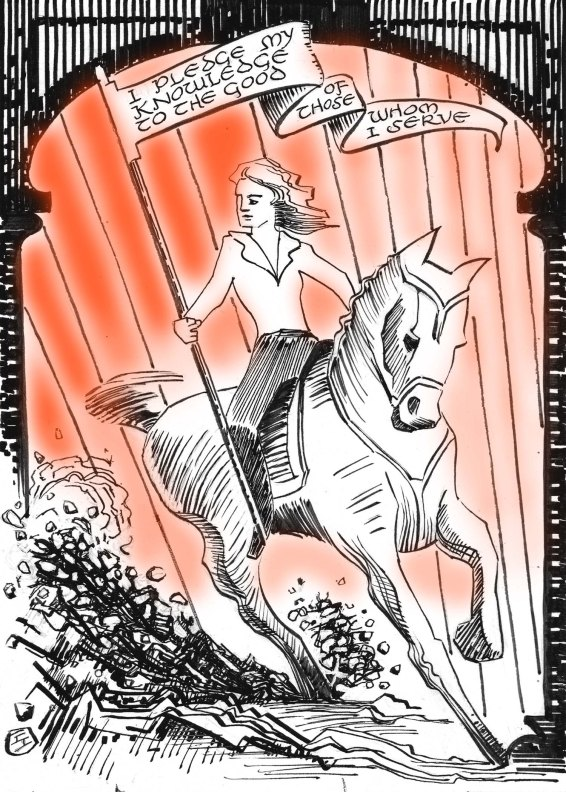 "A horse named ""Traveler"""